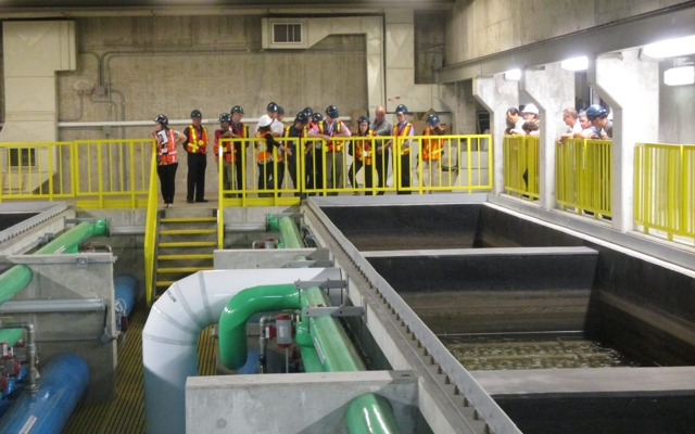 AMTA Workshop  –  Tour Operations at the Lorne Park WTP