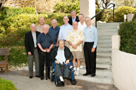 WaterOnline_jack Loos Dave Stahlhut Don Walker Charlie Hull Bob Pallias Ian Watson Peter Darby Jerry Foreman Shrman May with Dick Sudak Seated